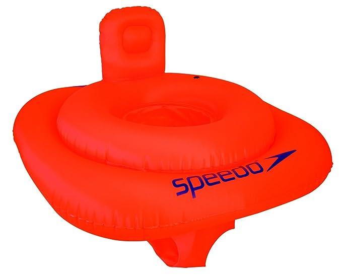 Speedo Sea Squad Swim Seat Flotador, Unisex niños, Naranja, 0-1 año