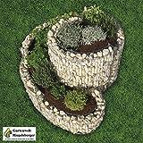 BELLISSA herbal spiral, herb worm, raised bed, gabion, herb bed, plant bed, vegetable bed, flower pot from Gartenwelt Riegelsberger