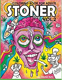 Amazoncom High Art The Stoners Coloring Book 9781523655465