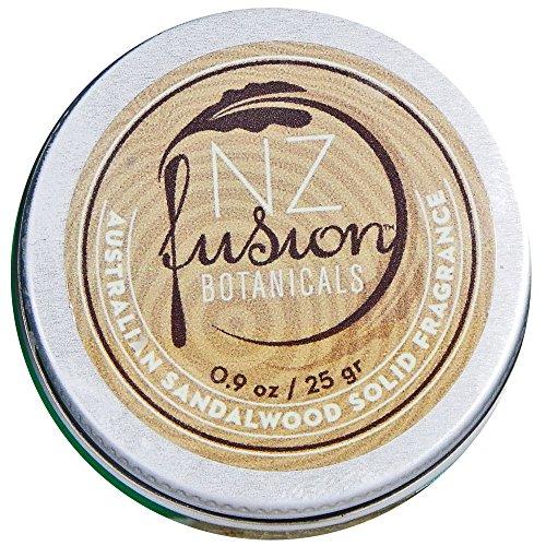 Sandalwood Solid Perfume (NZ Fusion Botanicals Australian Sandalwood Solid Fragrance)