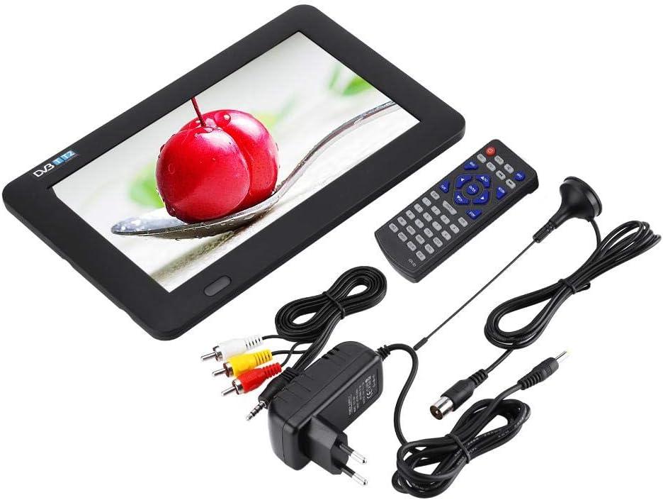 SYSINN 9 Inch Mini TV with SD and Unique Design,Portable TV,Convenient DVB T /& T2 TV,Multimedia Player