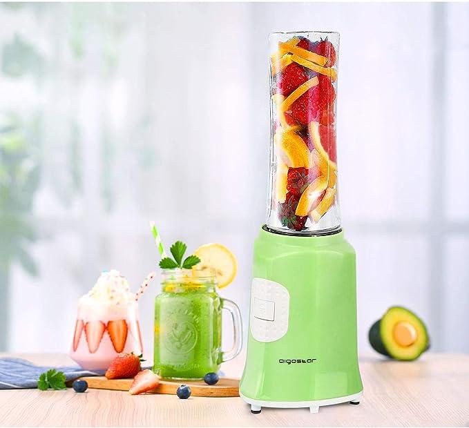 Aigostar Summer 30IWW - Batidora de vaso portátil para smoothies ...