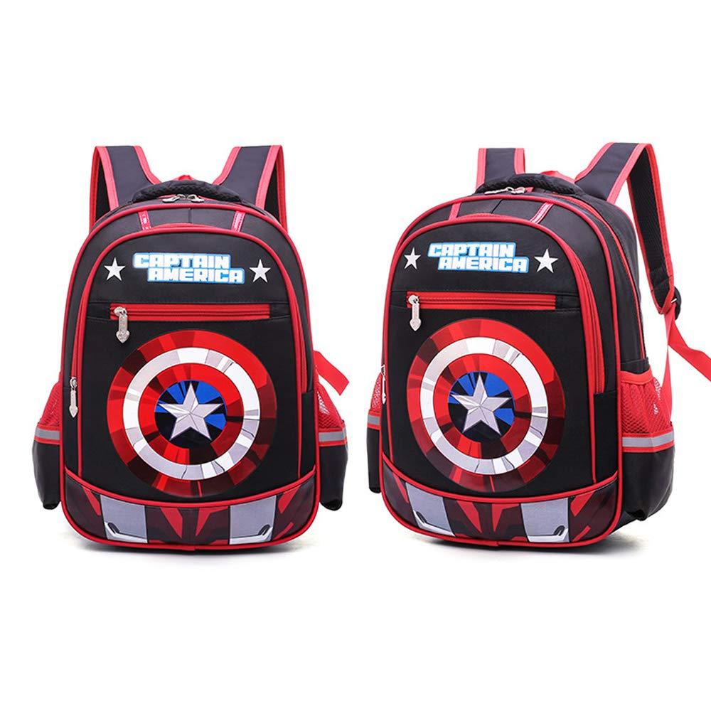 CDREAM Kinderrucksacke Kinder Kinder Kinder Schulrucksack Teens Rucksäcke Captain America Für Jungen Und Mädchen Schultaschen 8-11 Jahre Alt B07L6HPWZR Kinderruckscke Sonderangebot 578dbf