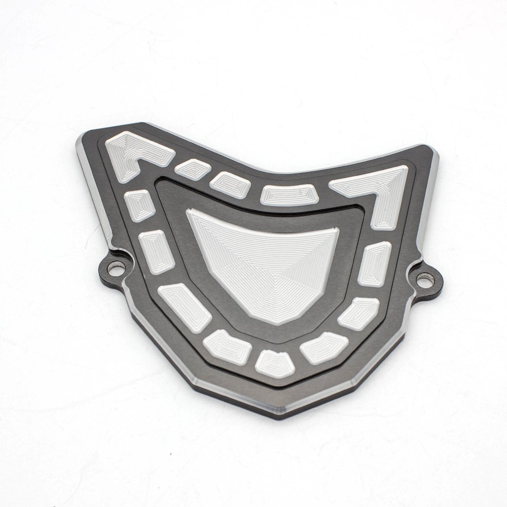 FXCNC Racing CNC Aluminum ATV Front Sprocket Chain Cover Guide Guard Protector Fit For YAMAHA YFM700 Raptor 700R 2007-2017