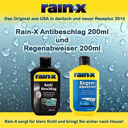 Rain-X / RainX 200ml Antibeschlag und Regenabweiser # Original # deutsche Verp.