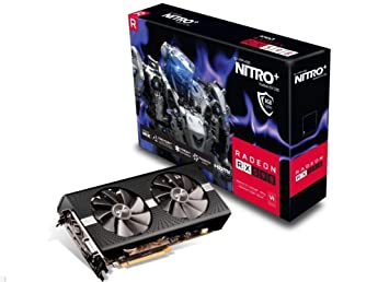 SAPPHIRE Nitro+ Radeon RX 590 8 GB GDDR5 - Tarjeta gráfica (Radeon RX 590, 8 GB, GDDR5, 2100 bit, PCI Express 3.0, 2 Ventilador(es))