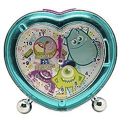 Disney Pixar's Monsters University Heart Shaped Light Up Alarm Clock