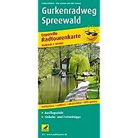 Gurkenradweg Spreewald: Leporello Radtourenkarte mit Ausflugszielen, Einkehr- & Freizeittipps, wetterfest, reissfest, abwischbar, GPS-genau. 1:50000 (Leporello Radtourenkarte / LEP-RK)