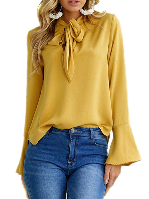Damen Kurzarmshirt Longshirt Oberteile Bluse T-shirt Kalte Schulter Top GR.34-42