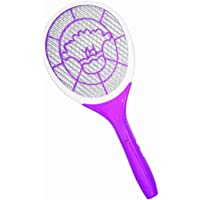 SUPER TOY Rechargeable Mosquito Insect Killer Flies Catcher Racket/Bat - Multicolor