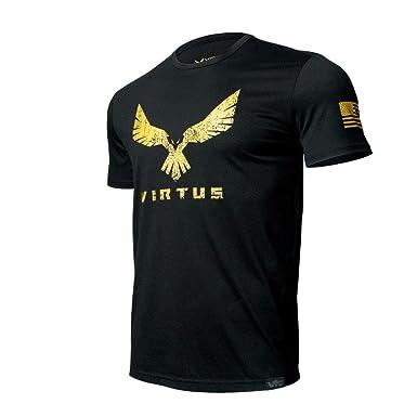 Virtus - T Shirt for Men Invictus Gold S S Grunge Yellow L (Black ... cd0f9d252ffa