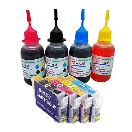29XL tinta recargable y 4 x 50 ml botella tinta compatible para ...