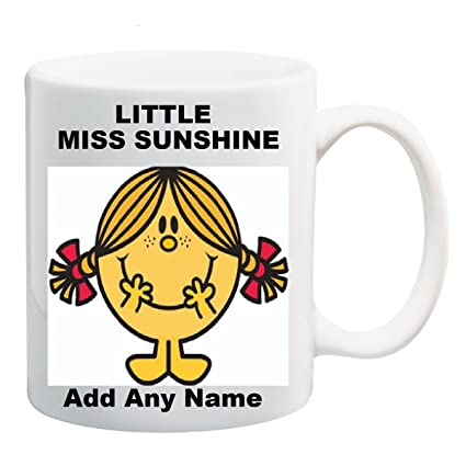 MugMugs Personalised Personalised Miss Sunshine Little S34L5jqcAR