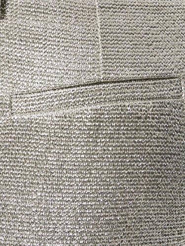 P.A.R.O.S.H. Pantaloni Donna D230264COLUREX057 Cotone Argento
