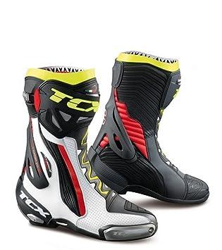 : TCX Boots Men's RT Race Boots WhiteRedYellow