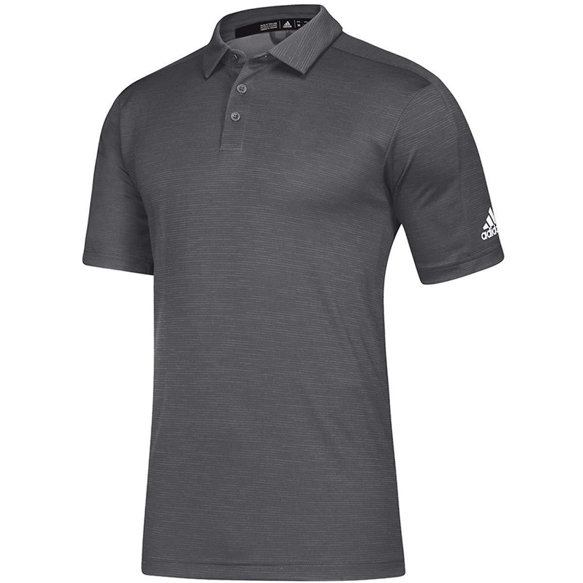 Mens Multi-Sport 4XLT Grey Melange//White adidas Game Mode Polo