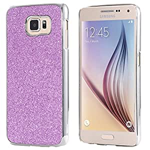 Luxury Plating Bling Hard Case for Samaung Galaxy S6 G920 Affordable Back Cover Ultra Thin Cellphone Accessories For Galaxy S6 --- Color:Black