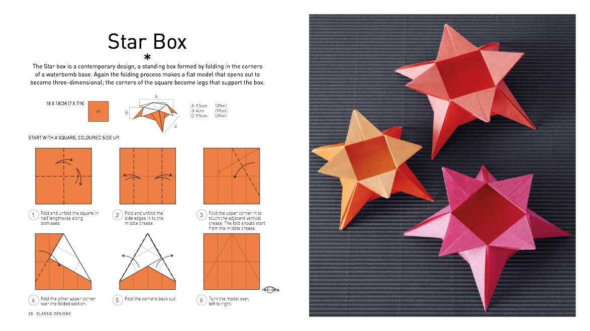 Origami Tutorial : 5 Pointed Star Box | Origami Useful Items Easy ... | 658x1174