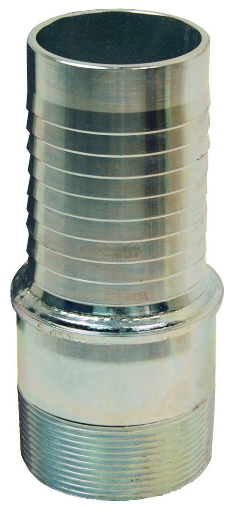 Dixon TML128 Holed All Tubular Long Style Male NPT Stem, 8'' by Dixon Valve & Coupling