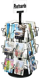 Amazon greeting card display rack with 24 5 x 7 pockets 66 post card display stand with 24 pockets for countertop use 28 14 m4hsunfo