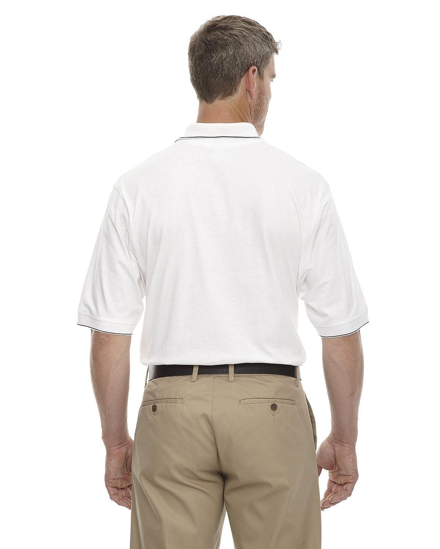 White//Black 85032 M eXtreme Cotton Jersey Polo