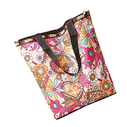 Satchel T Women Handbag Printed Floral Beach Shoulder Fashion Robemon Casual Shopping Bag Crossbody Messenger qOZxa8Xw