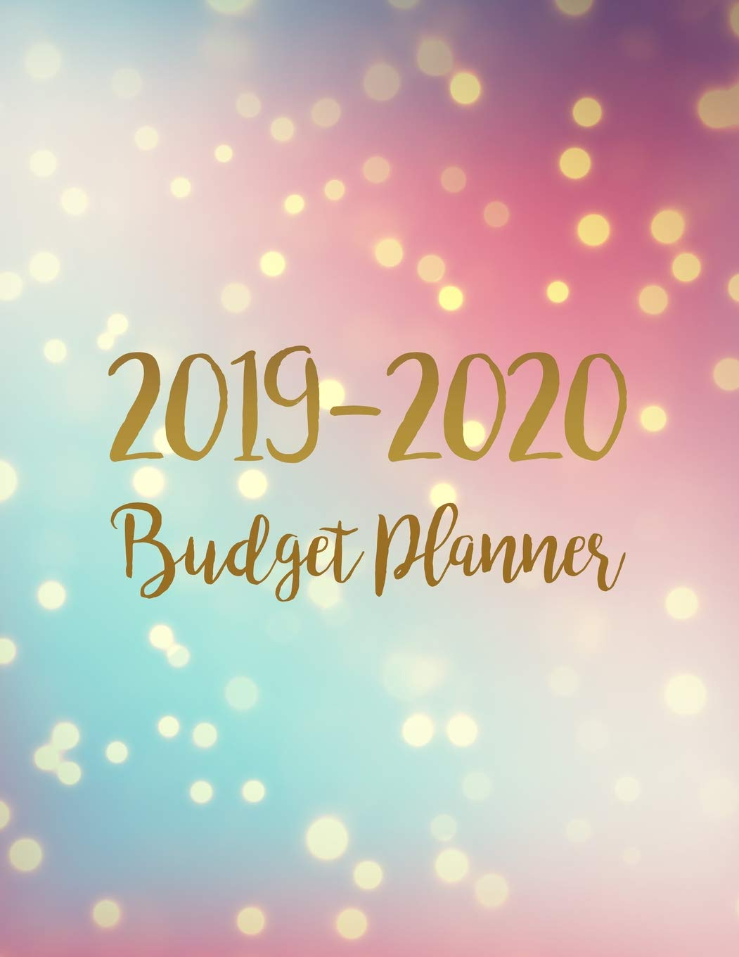 Uri Fall 2020 Schedule.Amazon Com Budget Planner 2019 2020 Two Year Daily Weekly