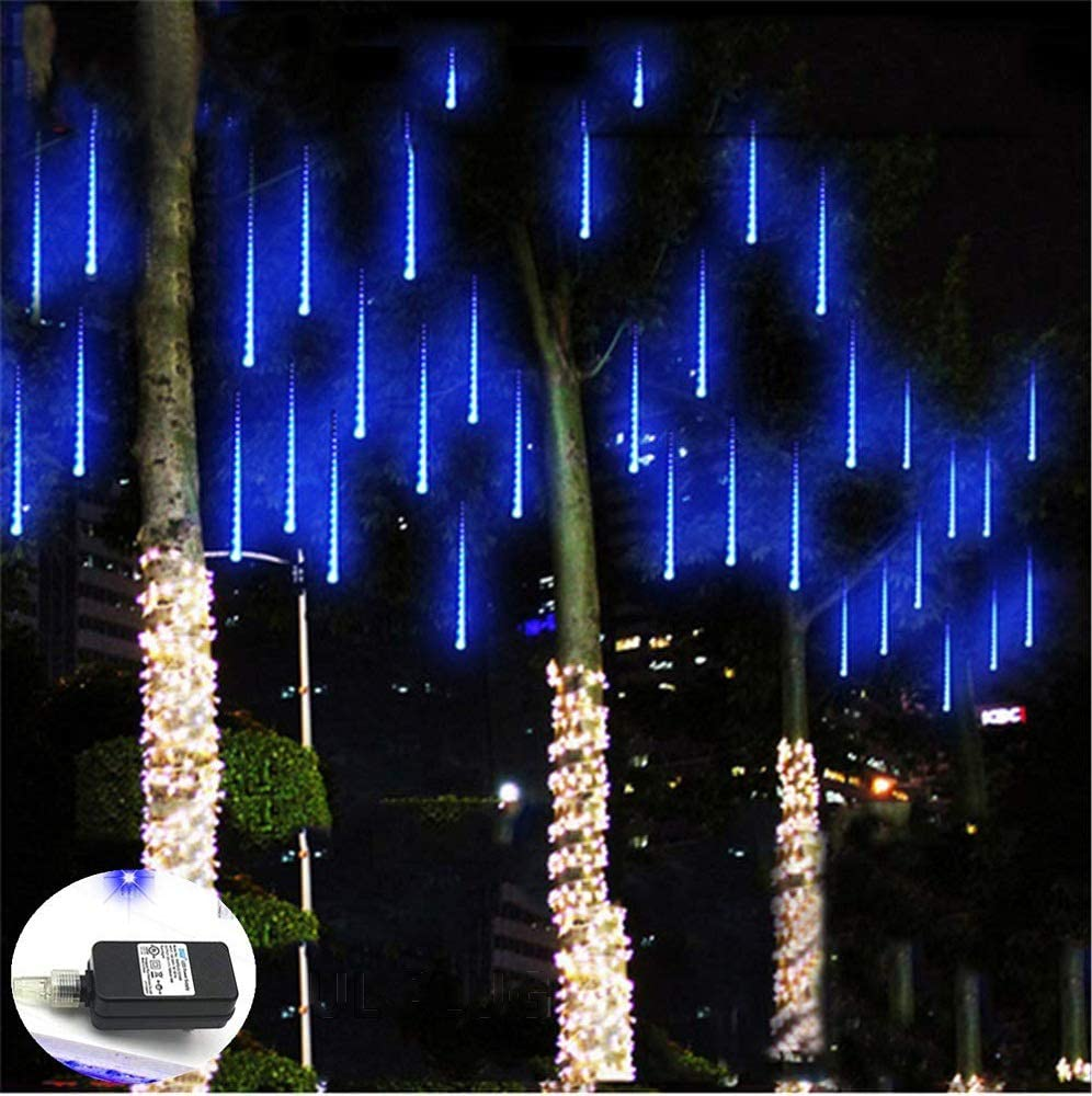 Waterproof LED Meteor Shower Light Falling Rain Bright Party//Yard Decor 30//50cm