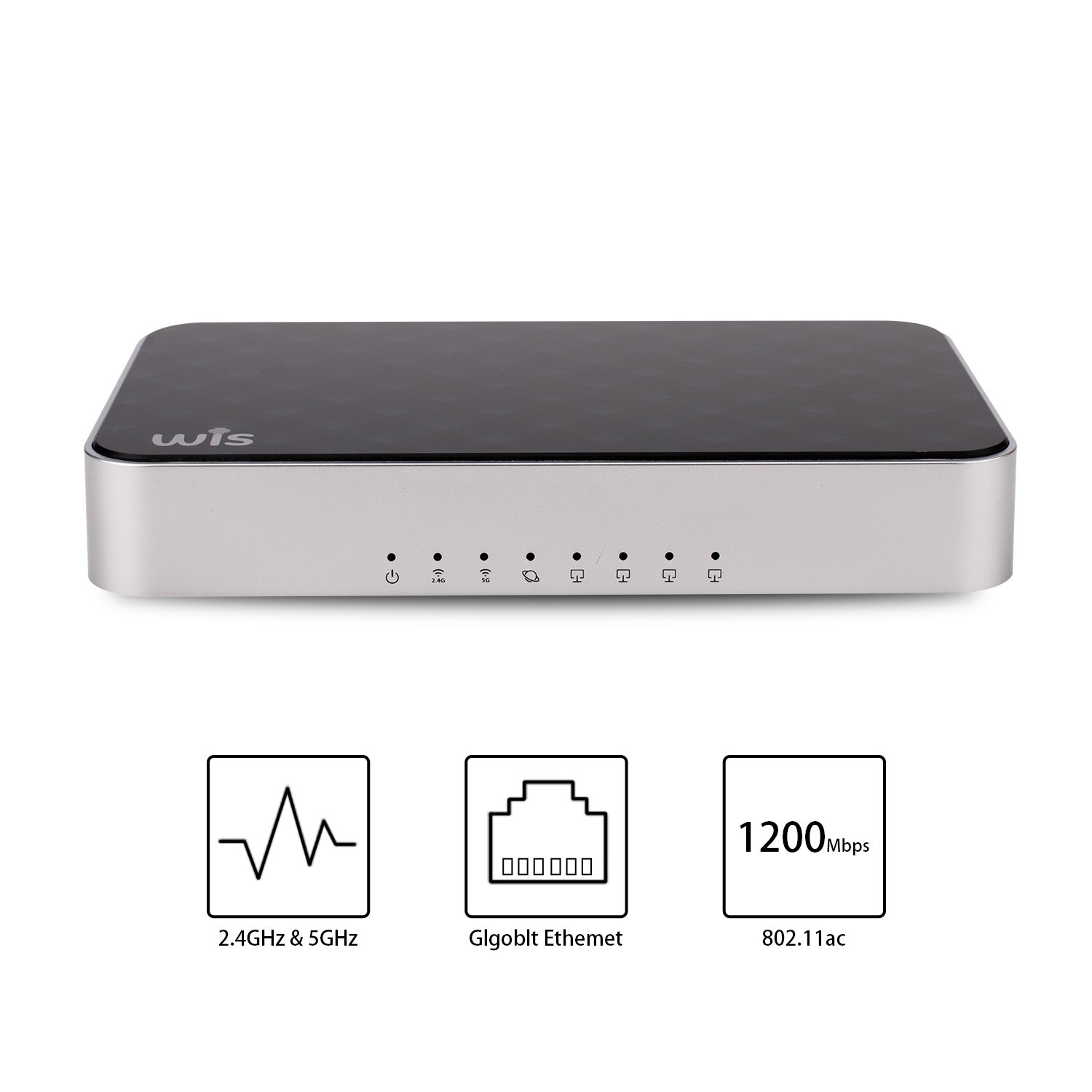 Wireless Smart WiFi Router - Dual Band Gigabit Wireless Internet Routers for Home,Works with Xbox, PlayStation, PC, Whole Home WIFI System Parental Controls (AC1200)