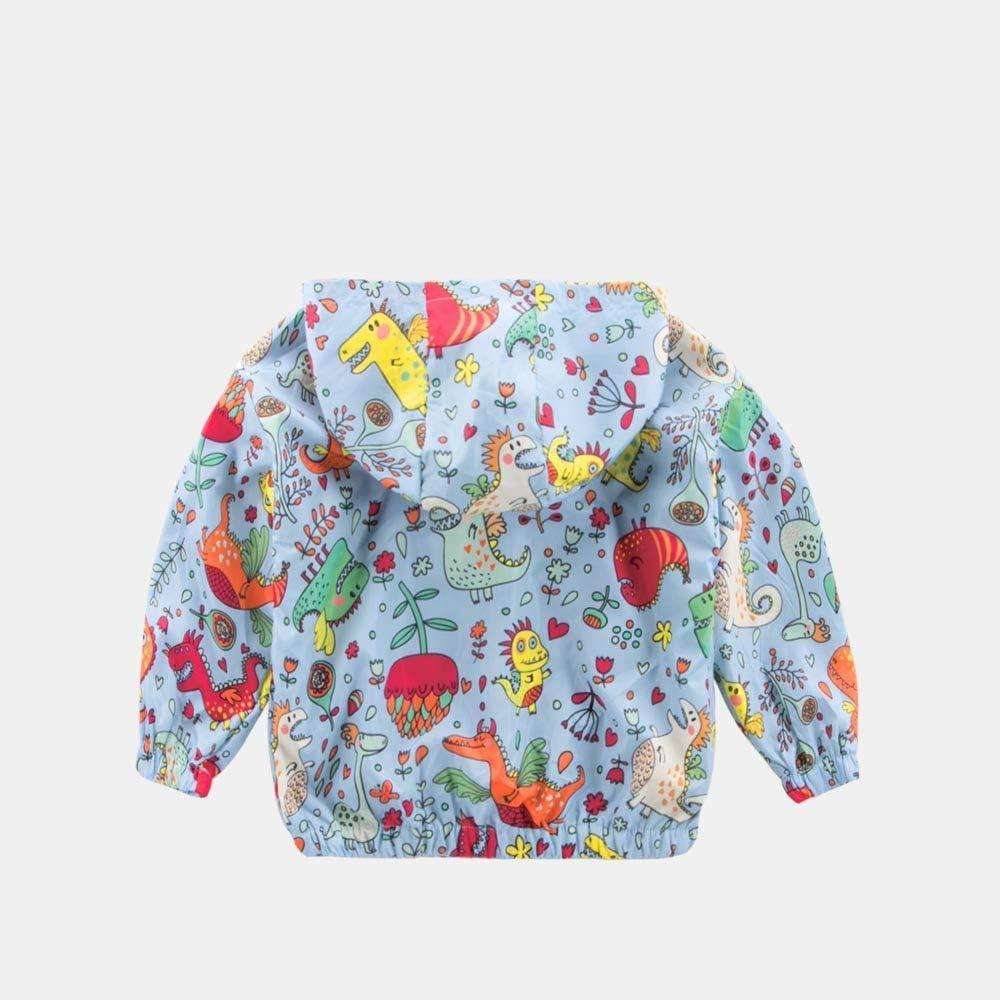 Memela Baby Clothes,Children Baby Coat Autumn Jacket Outerwear Dinosaur Hoodie Windbreaker Clothes