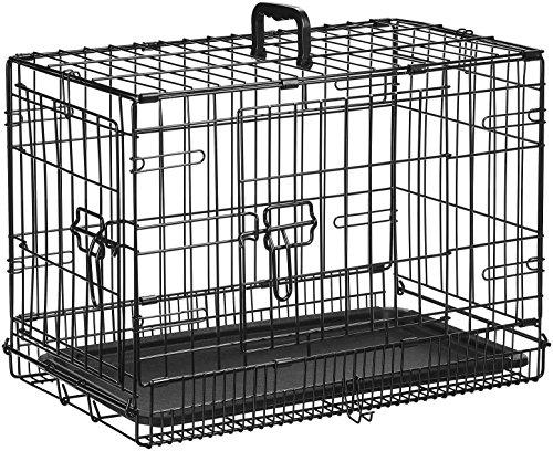 AmazonBasics Folding Metal Dog Crate 2