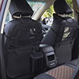 Back Seat Protector, ONEVER 2 Pack Kick Mats Car