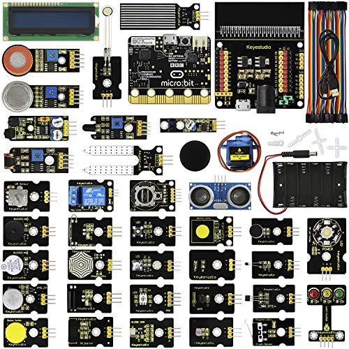KEYESTUDIO 37 en 1 Kit de Inicio con Placa de Control para BBC Micro bit: Amazon.es: Informática