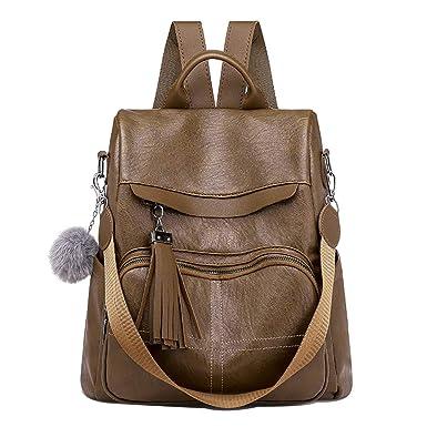 56605c384df02 TianWlio Damen Klassische Handtasche Winged Schultertasche Groß  Umhängetasche Taschen Frauen Rucksack Aus Weichem Leder Anti Diebstahl