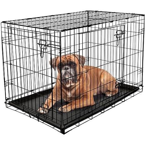 Rac Durable plegable jaula para perros Pet Carrier Caseta de viaje ...