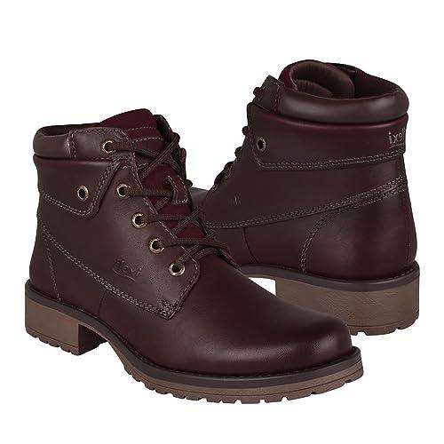 9054932b27313 Flexi Botas DE Moda para Dama 25520 Piel Chocolate  Amazon.com.mx ...