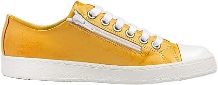 Chacal Shoes - Zapatillas de Mujer - Máximo Confort - Zapatos Deportivos Casual de Cuero - Cordones algodón - Fácil Calzado - EU 36 a EU 41