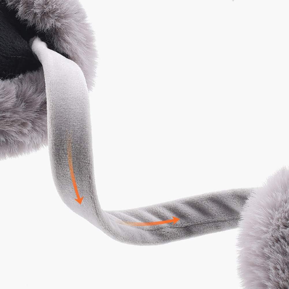 Casue Scaldini auricolari invernali paraorecchie invernali pieghevoli rimovibili lavabili rimovibili peluche protezione dal freddo caldo Accessori per linverno freddo Scaldini auricolari esterni