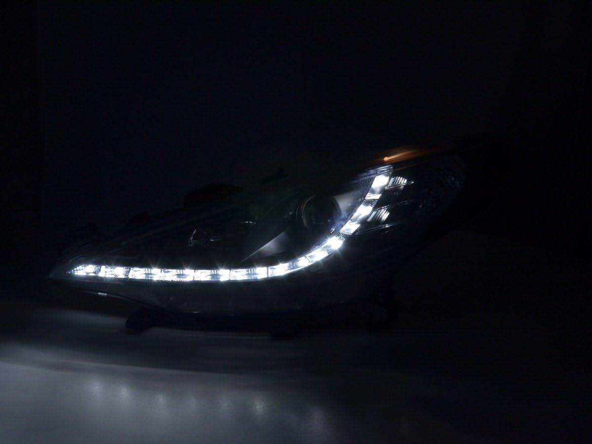 Phare avant Lumi/Ã/¨re du Jour Noir FK Automotive FKFSPG13503 Feux de Jour