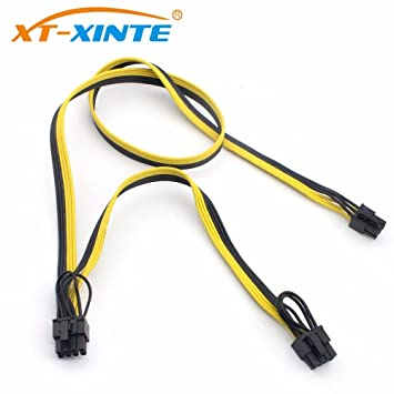 XT-XINTE - Cable Modular PSU de alimentación de 8 Pines a 6 + 2 ...