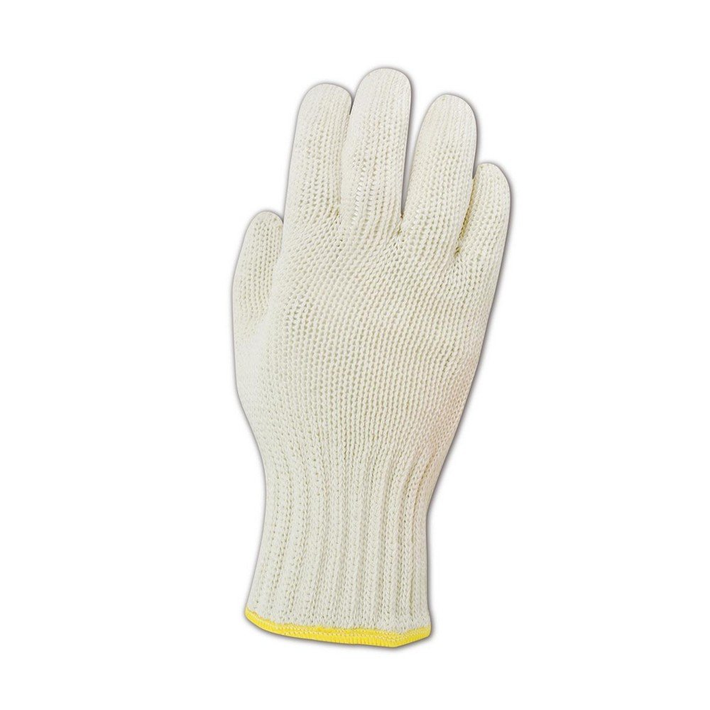 Wells Lamont 333021 Whizard Hand guard II Heavy Duty High Performance Fiber and Stainless Steel Ambidextrous Cut Resistant Gloves, Small, White