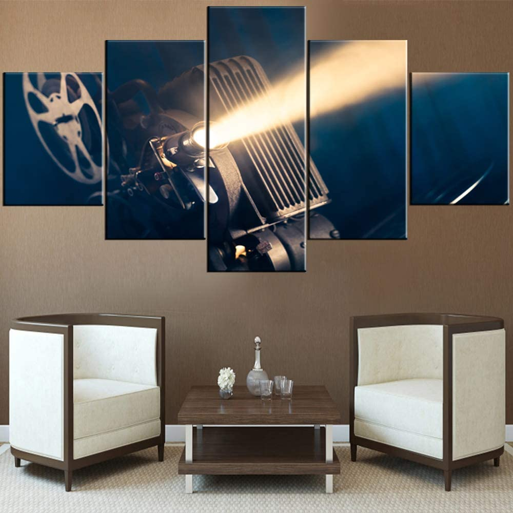 Sales results No. 1 House Decorations Living Room Old Atlanta Mall Movie Pictures Style Projector