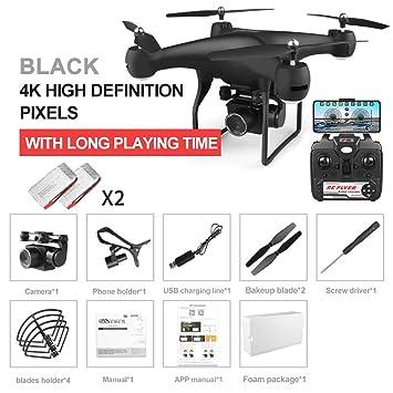 Yang YS Drone con cámara 4K, Quadcopter WiFi con transmisión FPV ...