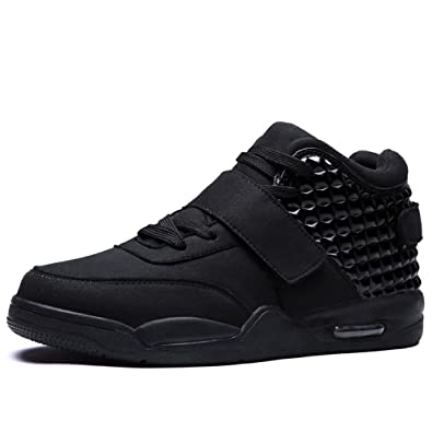 996650c1ca0c8 DUORO Men's High-Top Fashion Sneakers Sport Outdoor Shoes Lightweight  Breathable Running Casual Trainers