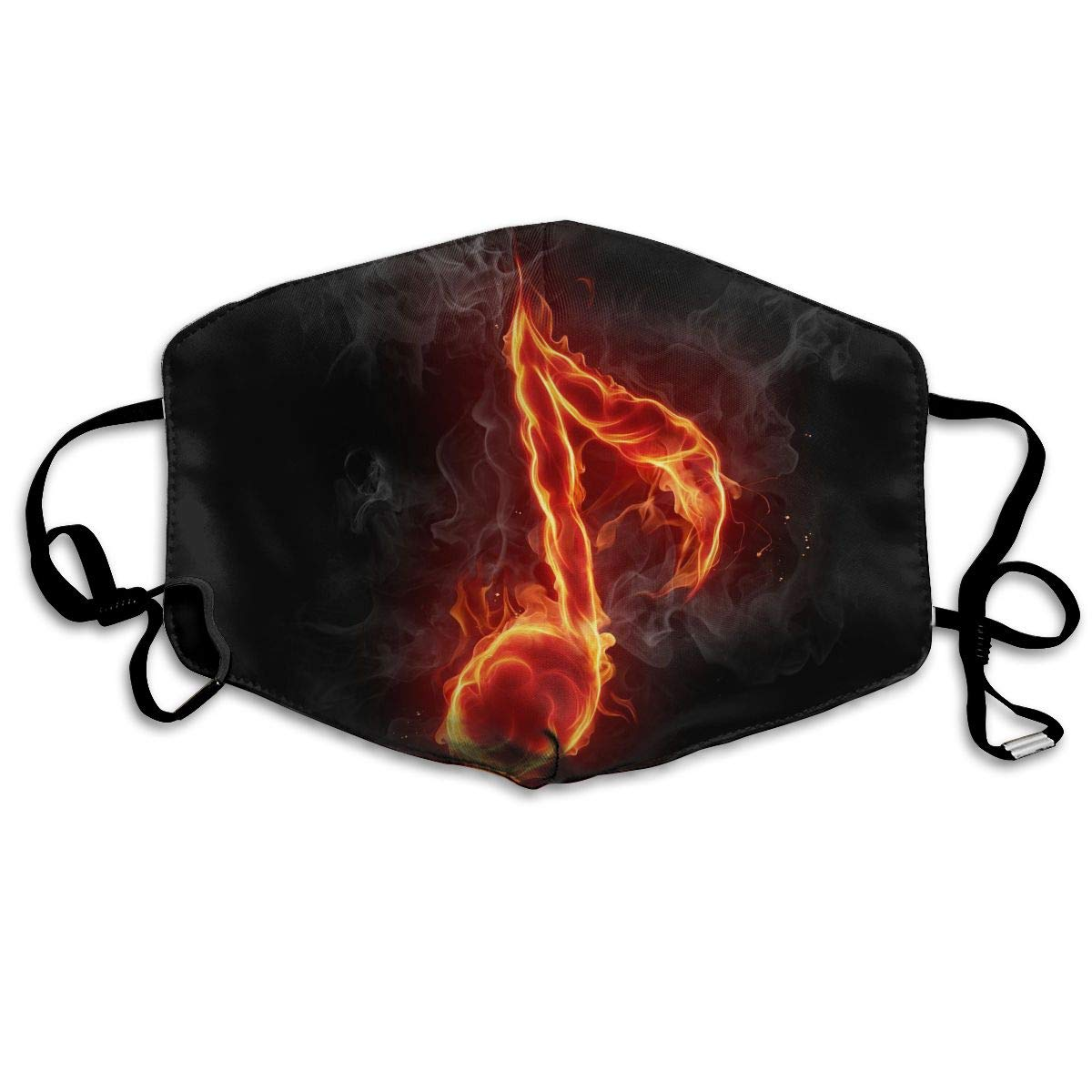 Sam-Uncle Anti Dust Face Mouth Cover Mask Music Notation Image Anti Pollution Breath Healthy Mask