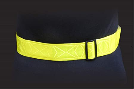 Made With Genuine Reflexite in America Pair By Jogalite Reflective Band