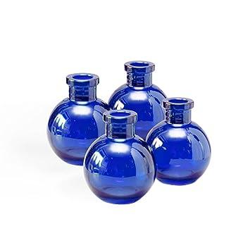 Amazon Glass Bud Vases Round Apothecary Jars Food Safe Ball