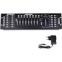 UKing 192 kanalen DMX512 controller console 240 scènes voor MINI DMX controller DMX lichtpaneel Party DJ Disco operator…