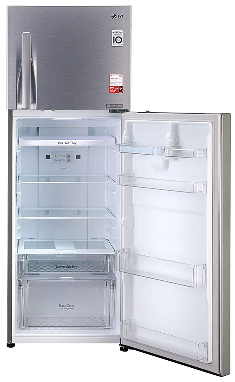 LG 335 L 3 Star Inverter Frost – Free Double Door Refrigerator – GL T372JDS3
