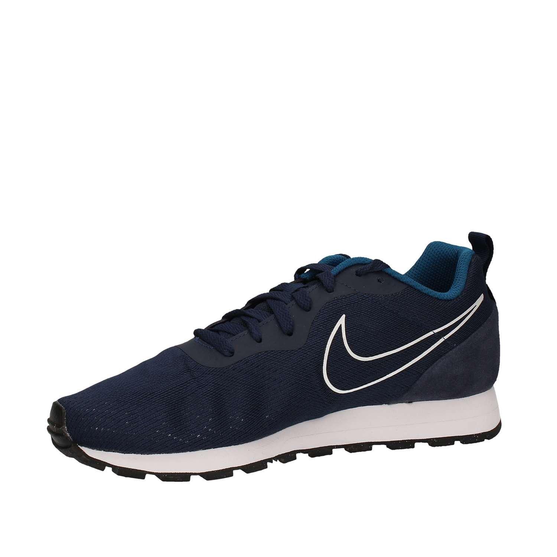 Nike - MD Runner 2 Eng Mesh - 902815400 - El Color Azul - Talla: 42.0: Amazon.es: Zapatos y complementos